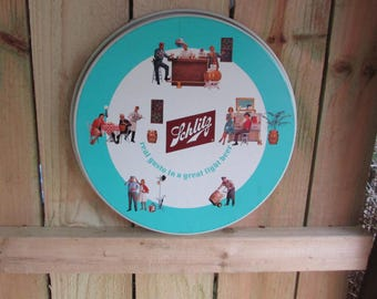 Old Style Beer Tray. Pop! 1970's .Nice Find. Metal Beer Tray. Man Cave. Breweriana
