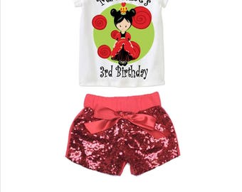 Alice in Wonderland - Queen of Hearts Birthday Outfit