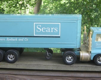 1960s Sears Tractor Trailer Toy Truck