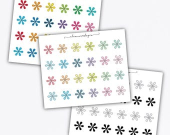 ASTERISK doodle stickers