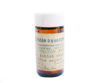 Hahman Drug Pharmacy Medicine Bottle