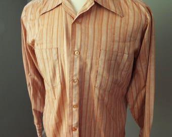 Vintage Long Sleeve Button Down Shirt bySears