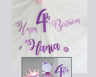 Owl birthday decoration package for girls birthday or baby for 1st birthday decoration packages