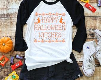 Halloween Outfit. Halloween Raglan.