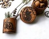 Geometric Keepsake Ring Box, Animal Treasure Box, Personalized Trinket Box, Small Geometric Box, Animal Trinket Box, Polymer Clay Jewelry