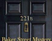 Baker Street mystère MKAL fil Kit dans votre choix de taille et couleur