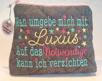 Cosmetic Bag * * * one surround me with luxury * * *