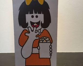 25 Cardboard Popcorn Boxes 1970s