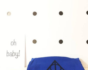 Deathly Hallows Harry Potter Baby Onesies