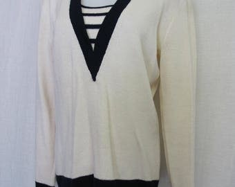 St John's Knit Sweater Nautical Knit Santana Knit NWT
