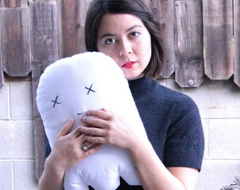 Little Ghost Friend Pillow
