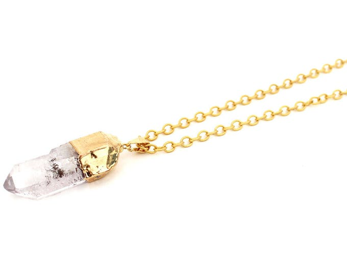 Necklace with a Crystal pendant