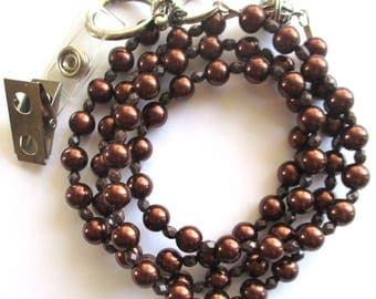 brown lanyard id badge holder id lanyard necklace id holder custom lanyard for keys teacher lanyard nurse lanyard breakaway magnetic clasp