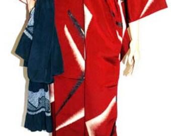 Japanese Kimono Robe, Japanese House Robe, Women Kimono, Ladies Kimono, Kimono Dressing Gown, Traditional Kimono, Kimono Wrap, Classc Kimono