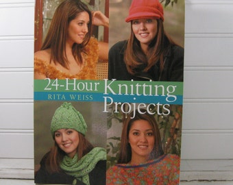 Knitting Projects, 58 Patterns, Craft book, Knitting Refresher Course