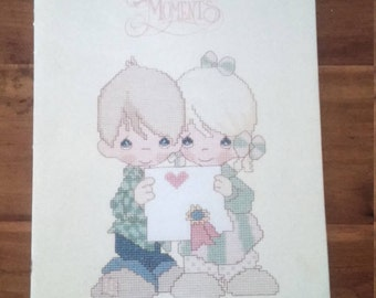 Precious Moments Counted Cross Stitch Book #16 Togetherness PM-16- 1987