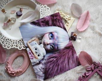"Photography ""Ellya"" - 11x15cm - Pullip Doll photography, print, art"