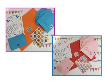 22 TOOTH FAIRY LETTERS, 22 personalised letters + 22 personalised envelopes, free postage within uk