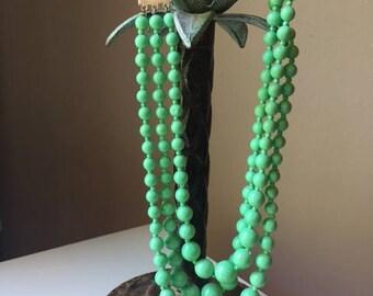 Vintage Faux Bead Necklace