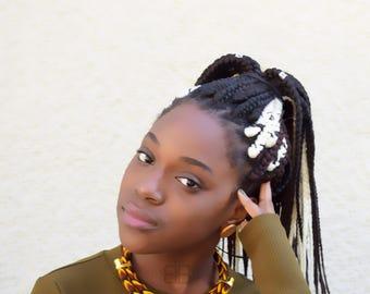 Bijoux wax, bijoux africains, african necklace for women, ankara necklace, ankara fashion, statement necklace, gift for her, collier wax