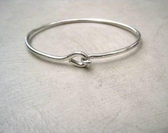 Silver Noose Bracelet