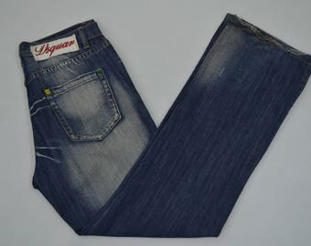 DSQUARED Jeans Dsquared2 Denim Pants Dsquared Button Fly Jeans 33.5x32.5