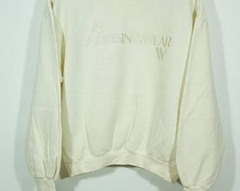 Vintage 90s Munsingwear Grandslam Spellout Sweater Size Medium M / Grandslam Sweater / munsingswear Sweater