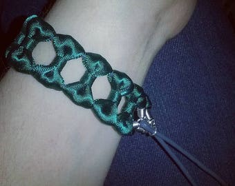 Green Bow Tie Bracelet