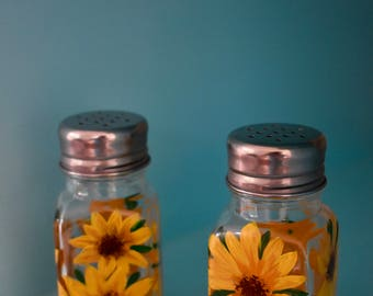 Painted Salt & Pepper Shakers - Live Wildly Original