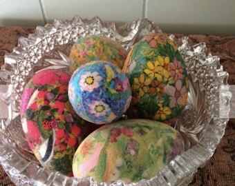 Handmade & decorated Easter Eggs