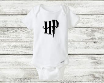 Harry Potter onesie, Hogwarts onesie, Harry potter baby onesie, Harry Potter baby gift