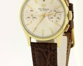 Jules Jurgensen Wrist Watch 14K Gold