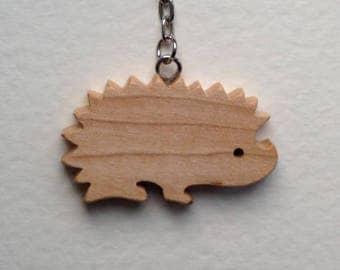 Ash Hedgehog Bag Charm