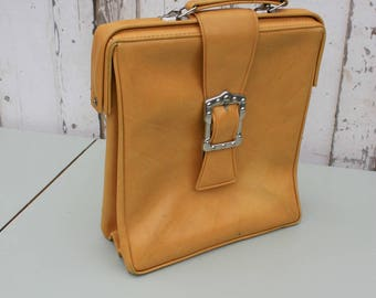 Vintage Satchel / Satchel / Vintage Bag / Messenger Bag / Vintage Handbag / Laptop Bag / Retro Bag / Autumn Bag