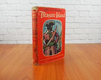 1946 Treasure Island Rainbow Classics Hardcover Edition, The World Publishing Company