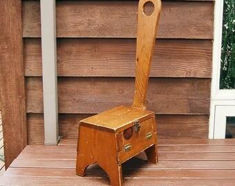 step stool storage etsy. Black Bedroom Furniture Sets. Home Design Ideas