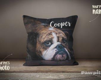 Pet Memorial, Dog Pillow, Custom Pet Pillow, Custom Dog Pillow, Pet Loss Gift, Pet Pillow, Photo Pillow, Custom Pet Memorial, Pet Keepsake