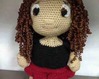 Crochet Sweet Pea Doll