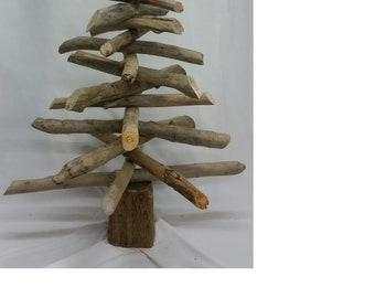 Driftwood Christmas Tree 4ft Handcrafted
