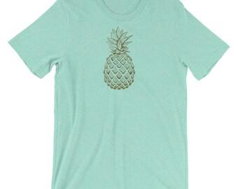 Hand-drawn Pineapple T-Shirt