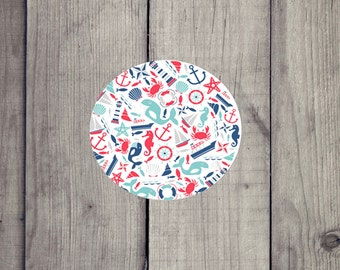 Custom Nautical/Dolphin/Seahorse/ Drink/Coffee Table Coaster (set of 2 or 4), Sandstone Personalized Coasters (set of 2 or 4) Gift Ideas