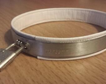 Stainless steel locking play collar