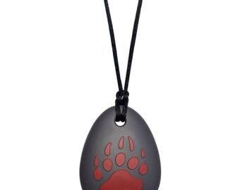 Kids Sensory Chewelry - Bear Claw Chew Necklace