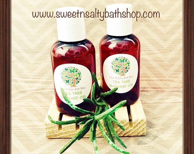 Soothing Tea Tree Massage Oil