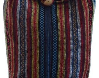 Woven cotton shoulder bag,  Hippie bag,  Messenger, Hippie, Gypsy, Sling, Hippy, Hobo bag,  Crossbody