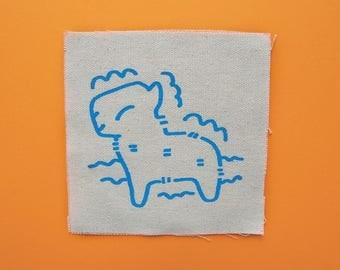 Capybara Sew On Patch