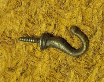 Screw-In Cast Iron Hook (Short Type)
