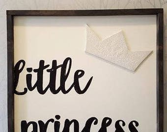 "Little princess 16x16"""