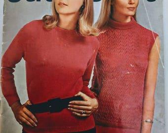 Vintage Stitchcraft Magazine October 1967