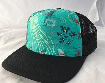 Sale Large Hats Jellyfish Ocean Scene
